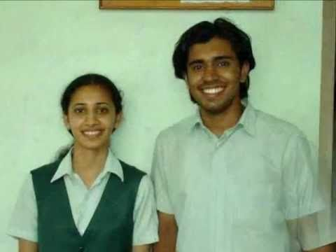 Actor Nivin Pauly & wife Rinna Joy - Picture taken while studying