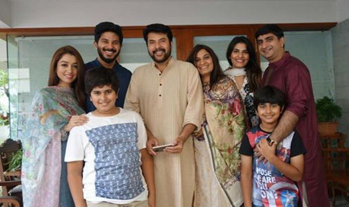 family image of Mammootty