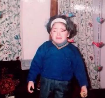 Childhood image of Zaira Wasim
