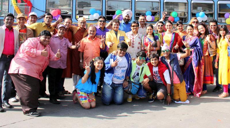 group photo of TMKOC