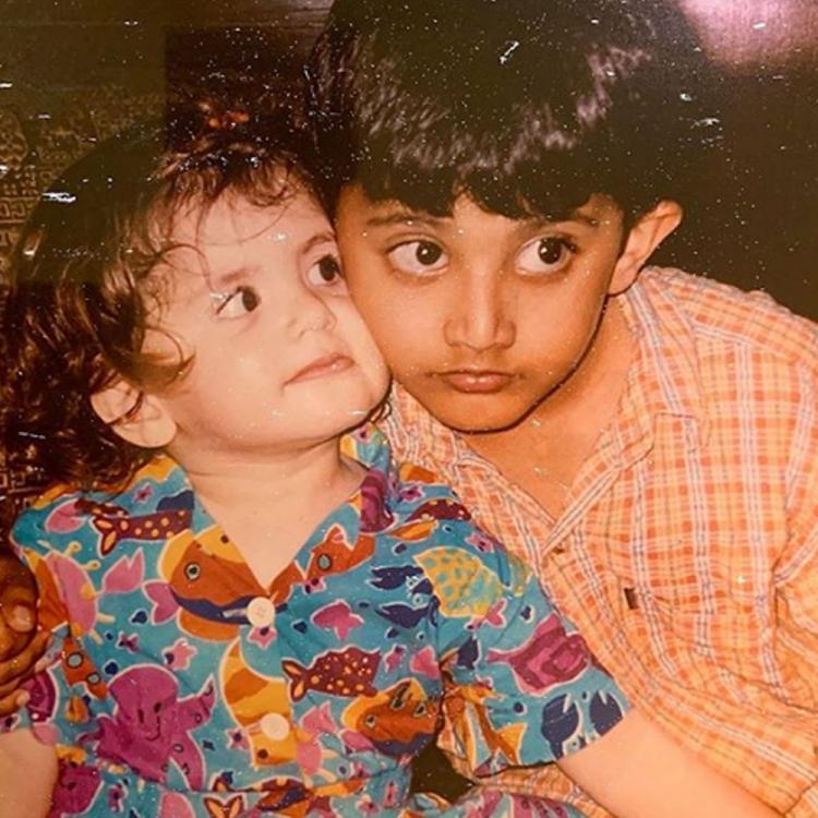 Sanjana Sanghi Childhood image