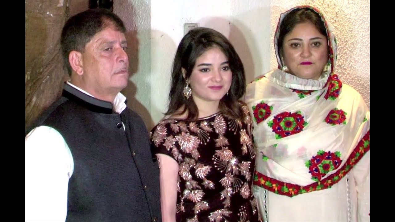 Zaira Wasim Friends, Family, And Relatives :