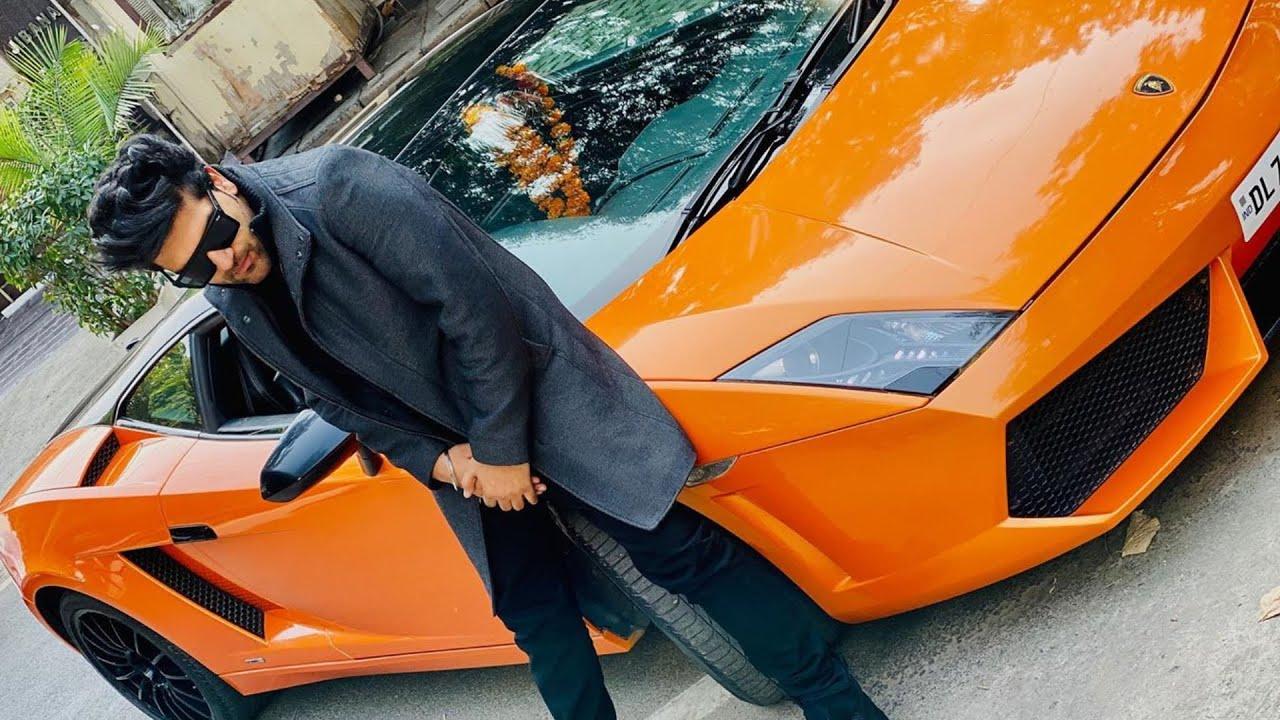 Guru Randhawa with his car