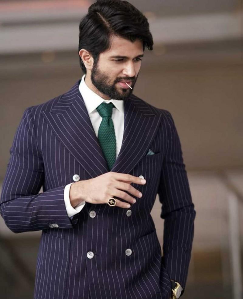 Vijay Devarakonda image in suite