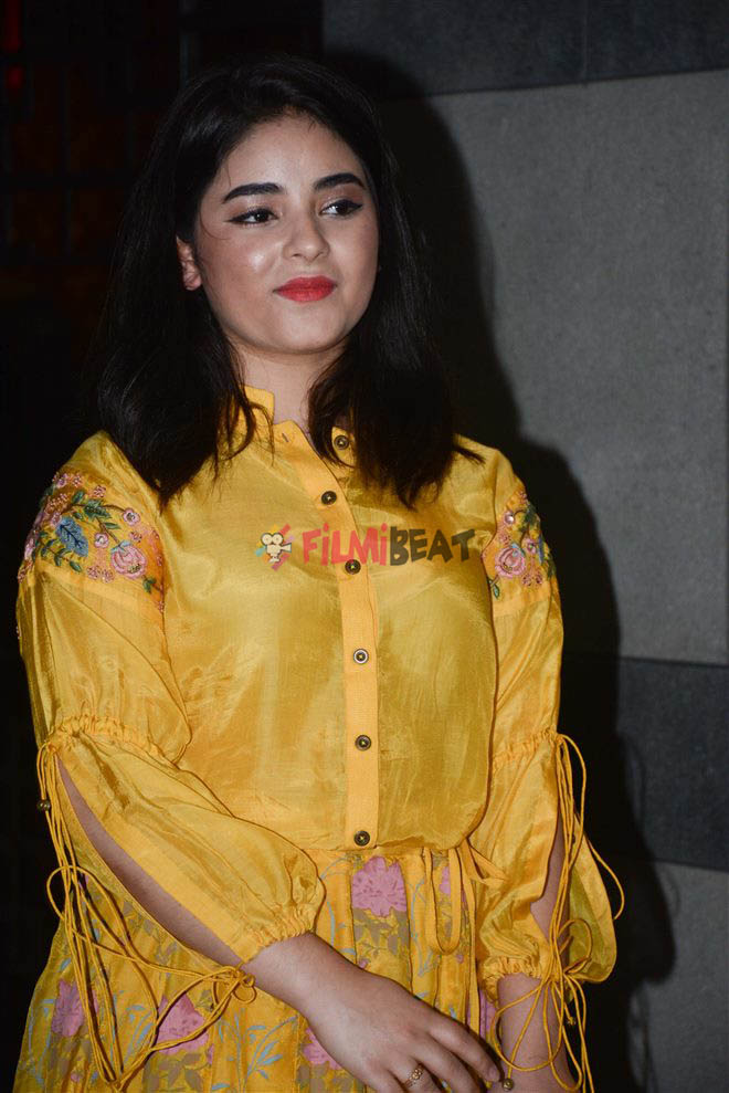 Zaira Wasim img in traditional