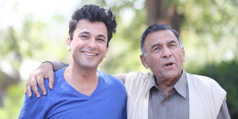 Vikas-Khanna Father :-Late Davinder Khanna