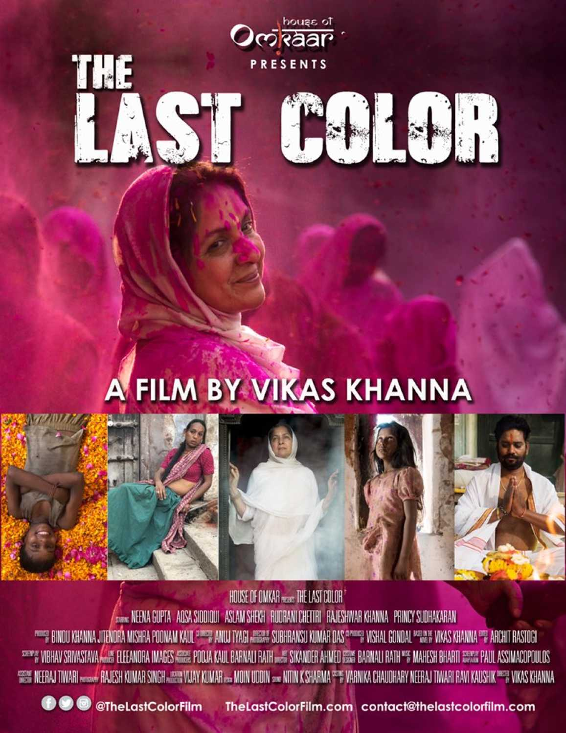 """As directorial """"The Last Color"""""""