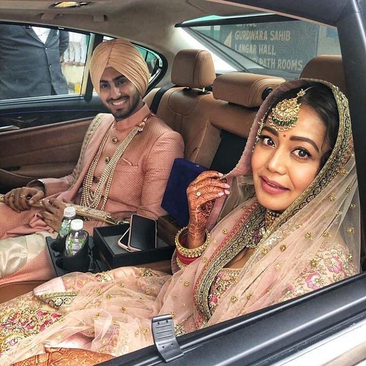 Neha Kakkar and Husband :-Rohanpreet Singh (m. 2020)