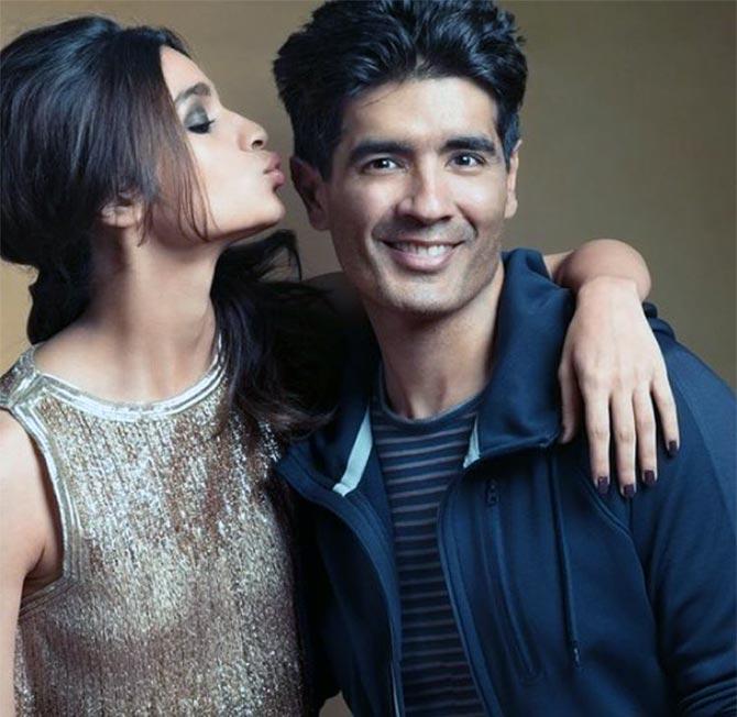 Manish Malhotra and Alia Bhatt