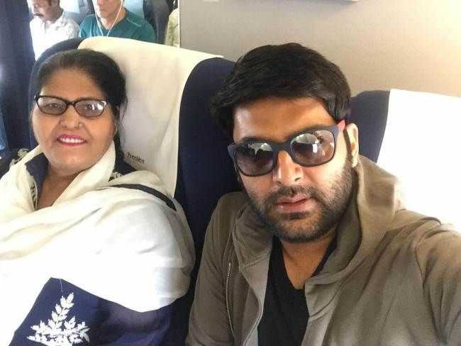 Kapil Sharma's Mother :-Janak Rani ( Homemaker)
