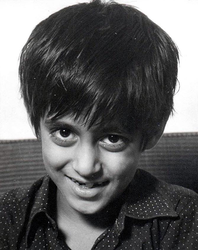 Childhood Image Of Salman Khan