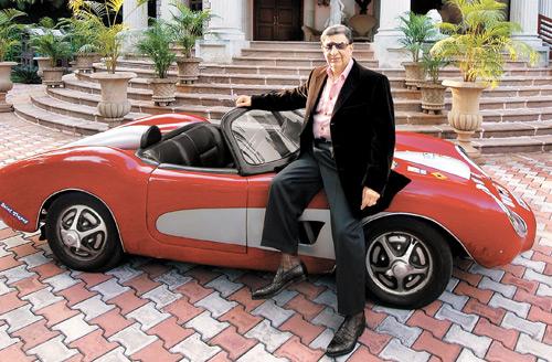 Cyrus S. Poonawalla car collection