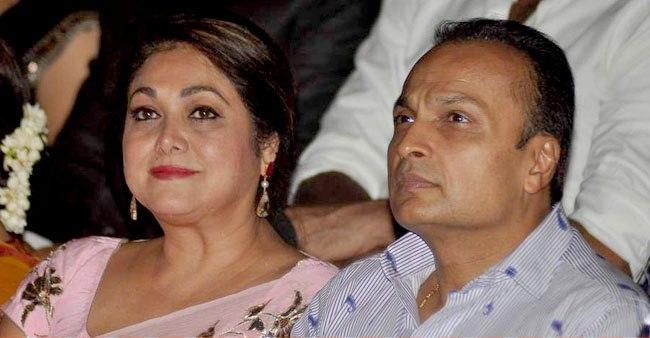 Husband :-Anil Ambani