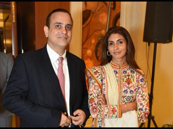 Wife :- Shweta Bachchan-Nanda