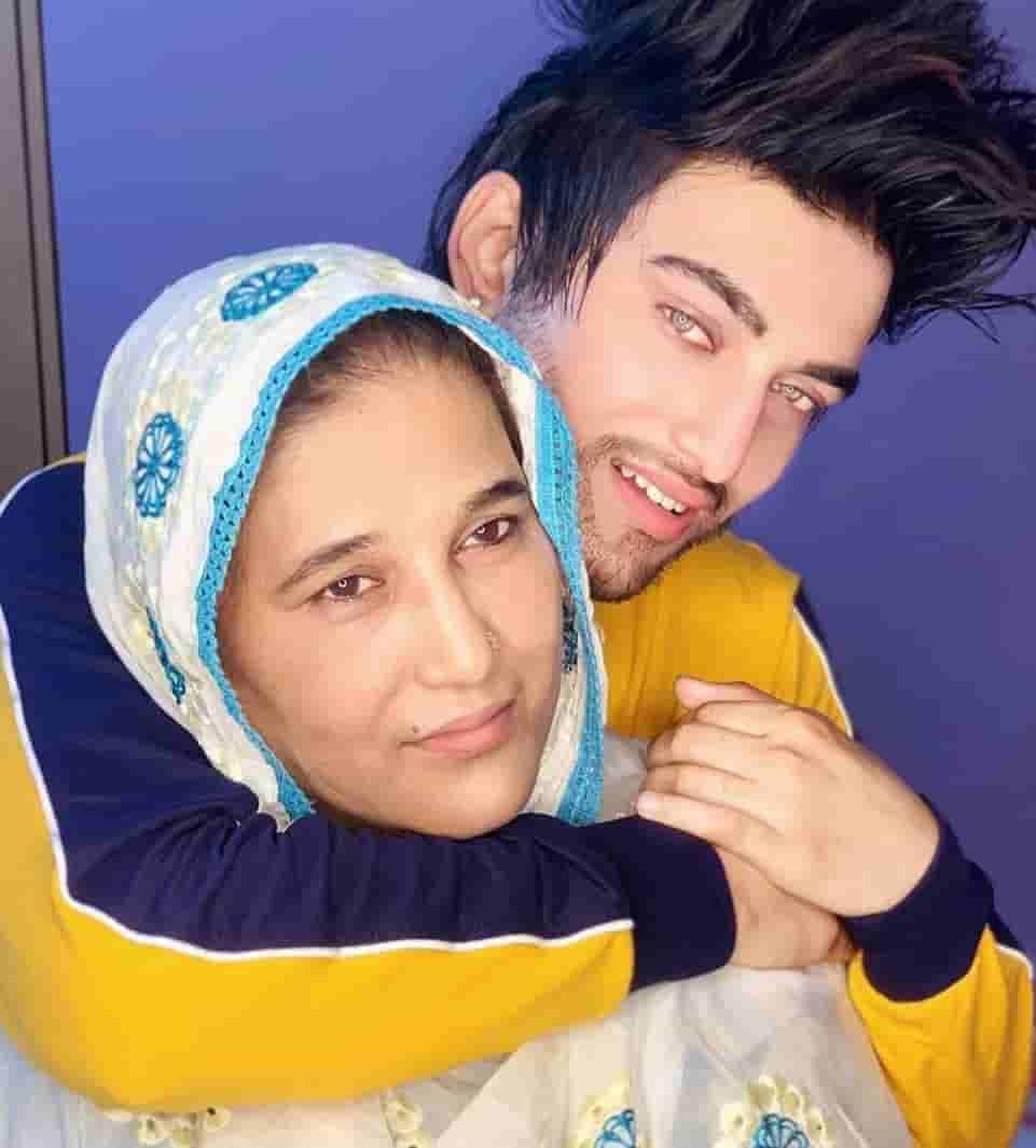 Sameer Mark and mother