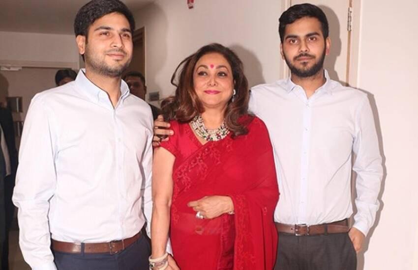 Son (s) :-Jai Anshul Ambani, Jai Anmol Ambani