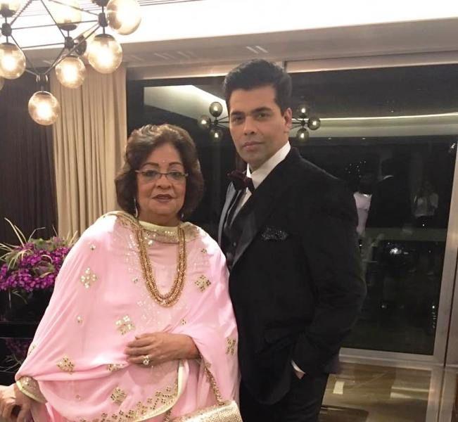 Karan Johar Mother :- Hiroo Johar's