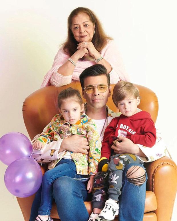 Karan Johar Family