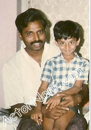 Nani with his father