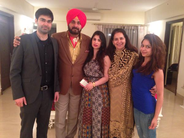 Navjot Singh Sidhu Friends, Family, And Relatives :