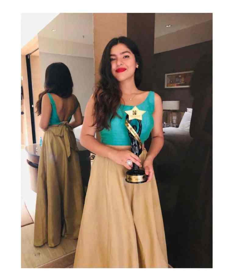 Nidhi Bhanushali awards