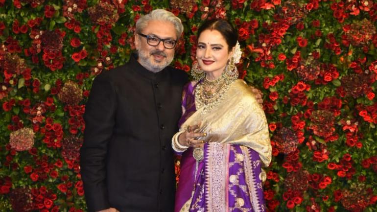Sanjay Leela Bhansali and Rekha