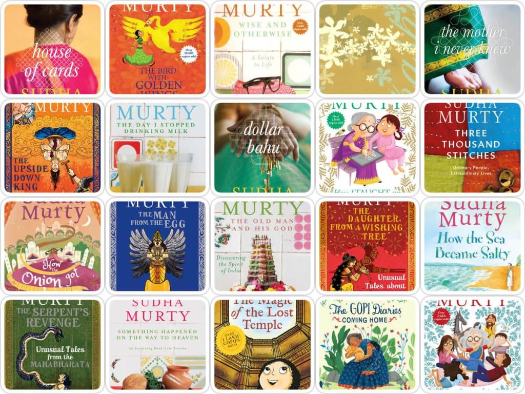 Books of Sudha Murty: