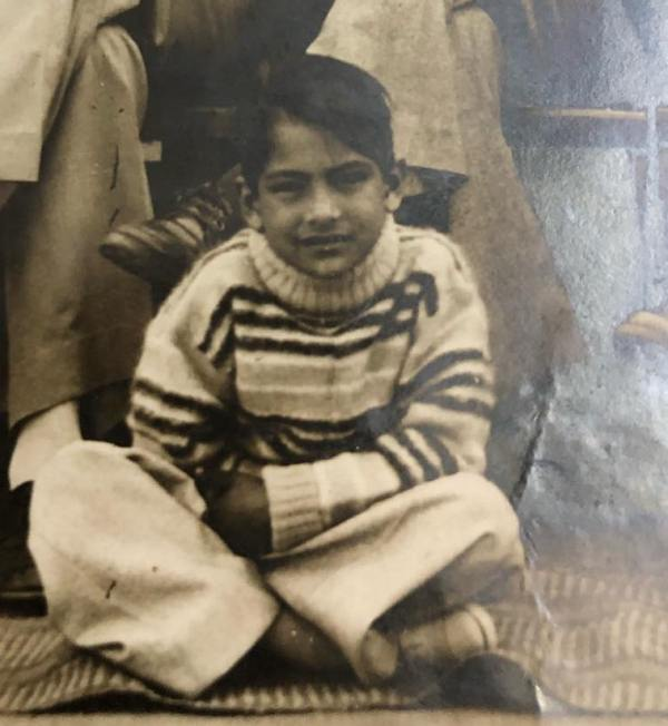 Sudhir-Chaudhary-childhood-pic