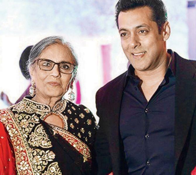 Salman Khan Mother :- Sushila Charak ( aka Salma Khan)