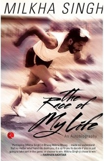In 2013, Milkha released his autobiography Named, 'The Race of My Life'.