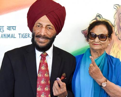 Milkha Singh's Wife :-Nirmal Kaur