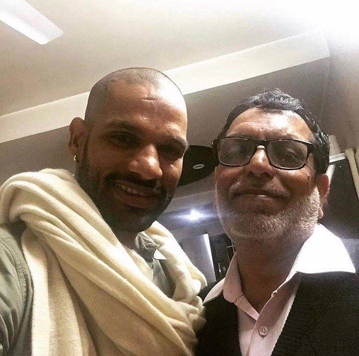 Shikhar Dhawan Father :-Mahendra Pal Dhawan
