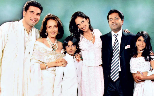 Lalit Modi Friends, Family, And Relatives :