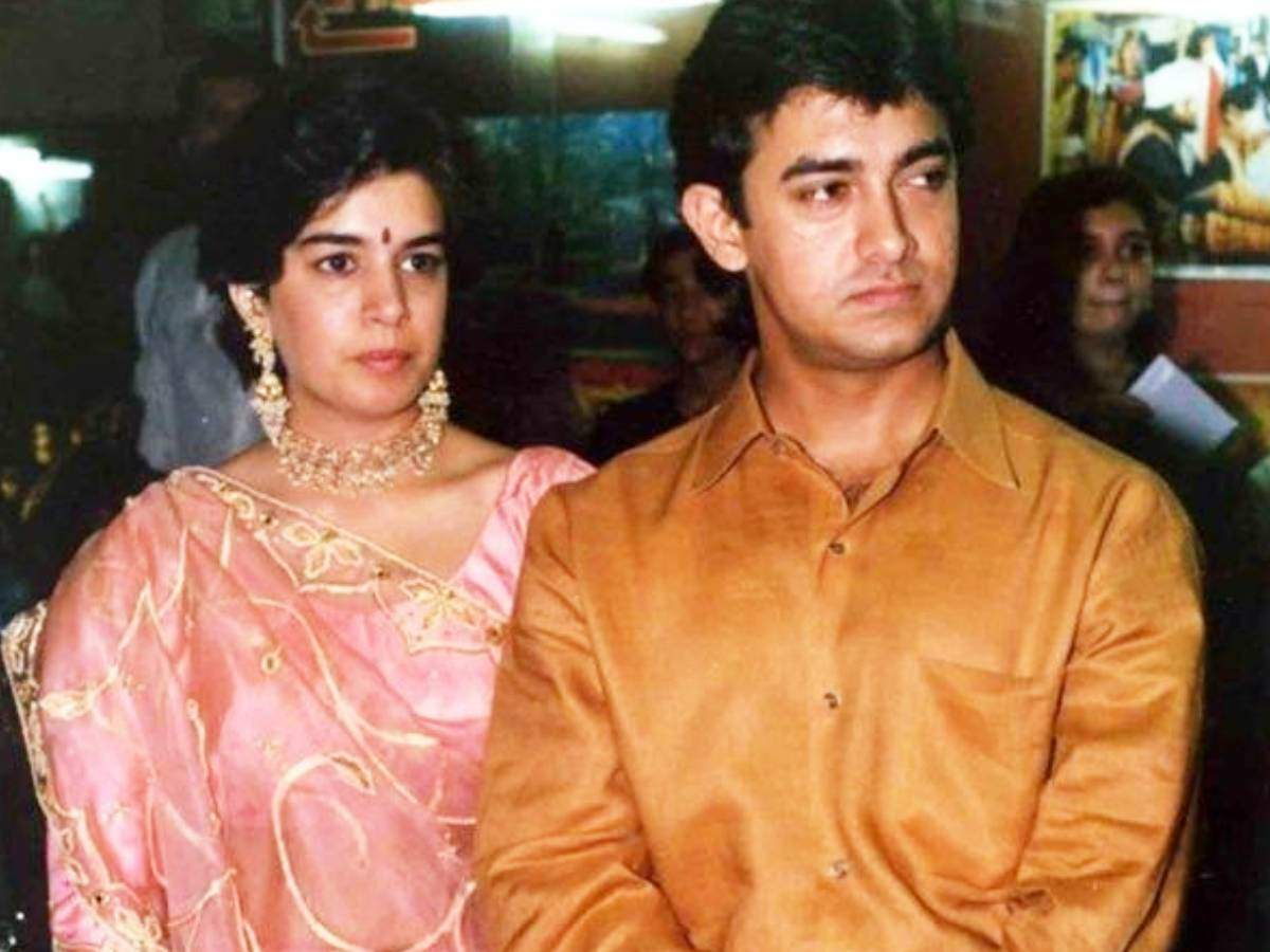 Aamir Khan and Reena Dutta pic at their wedding time