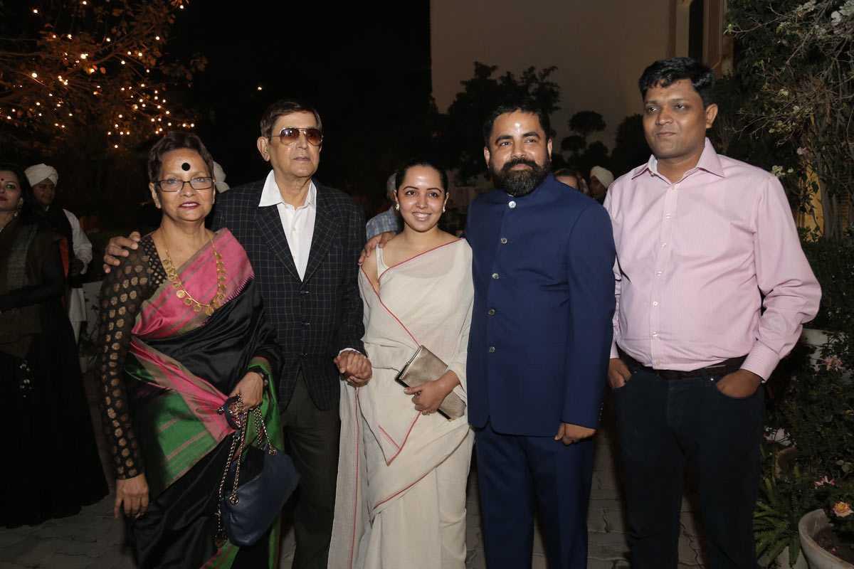 Sabyasachi Mukherjee family