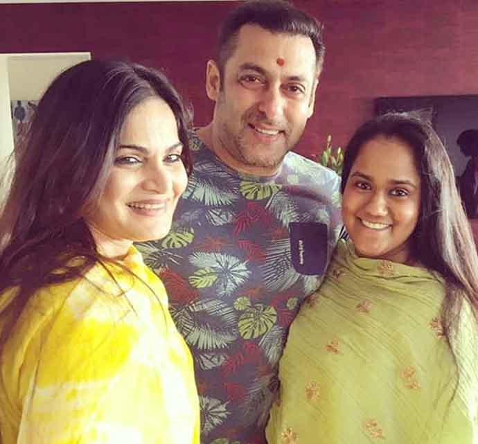 Salman Khan Sister (s) :- Alvira and Arpita