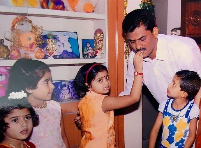 shivani-narayanan Father :-Mr. Narayanan (businessman)