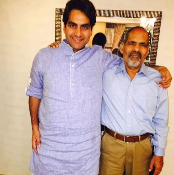 sudhir-chaudhary-father