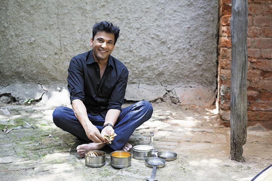 Vikas Khanna image in desi style