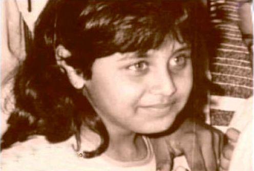 Rani Mukherjee childhood image