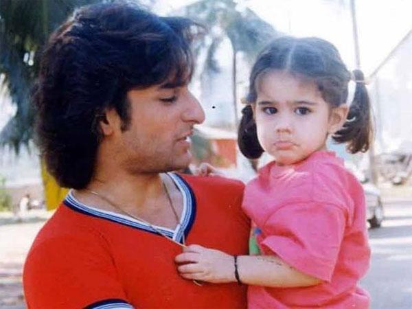 Sara Ali Khan Childhood Image