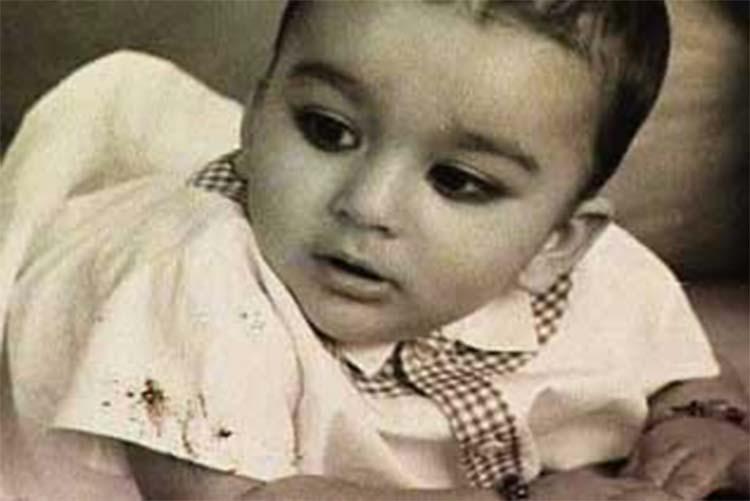 anjay-Dutt childhood image