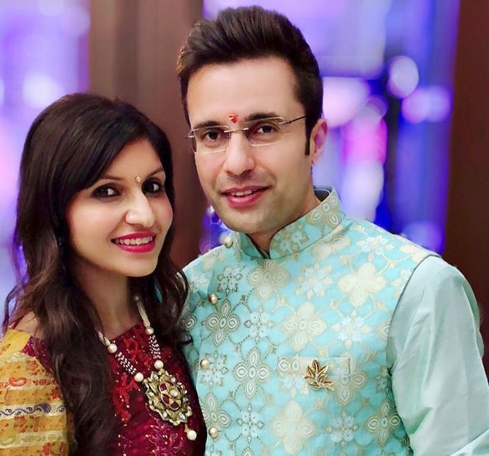 Sandeep Maheshwari and Ruchi Maheshwari