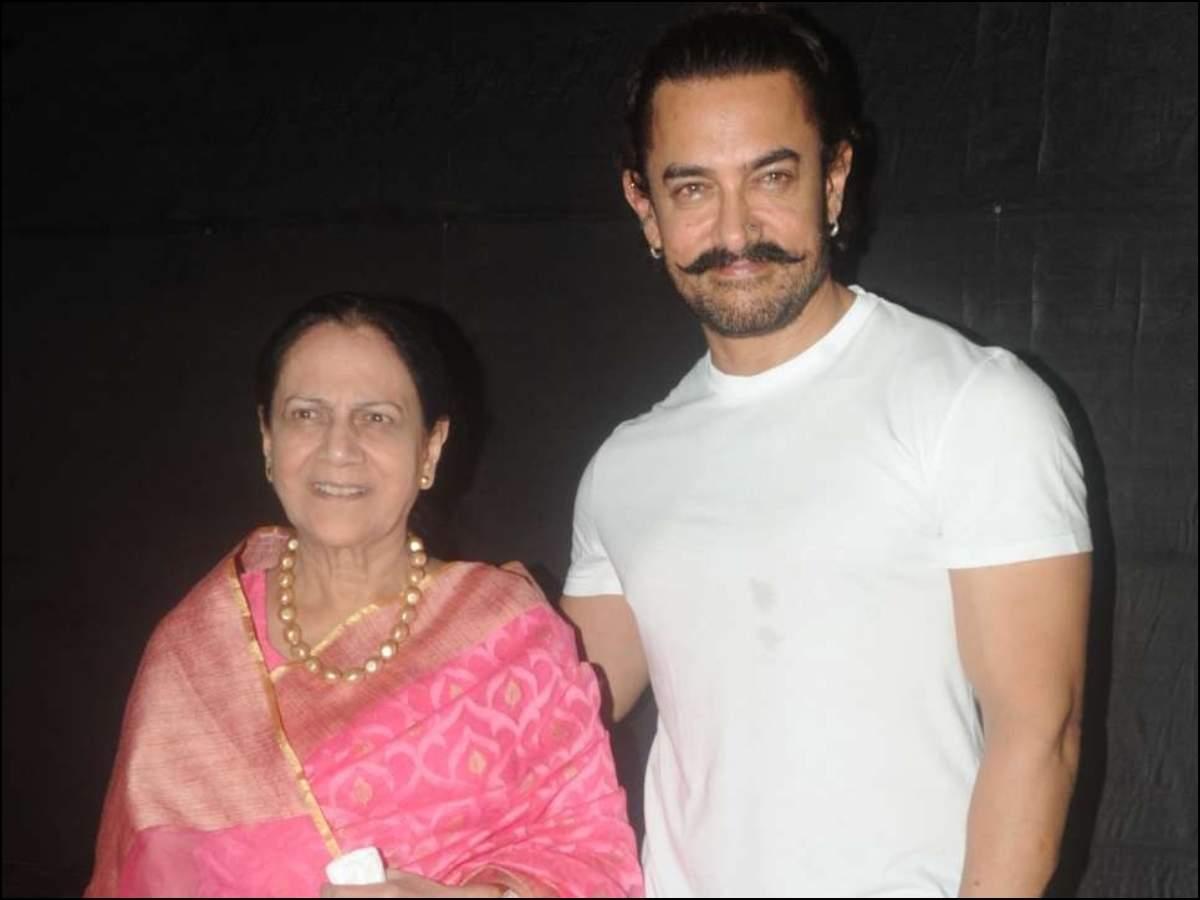 Aamir Khan Zeenat Hussain