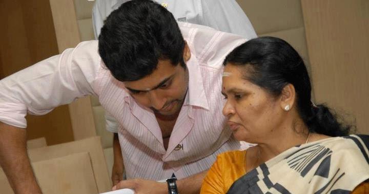 Actor Suriya Mother :-Lakshmi Sivakumar