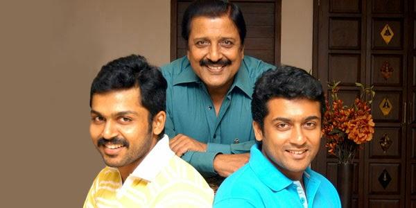 Actor Suriya Father :- Sivakumar (Actor)