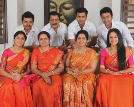 Actor Suriya Friends, Family, And Relatives :