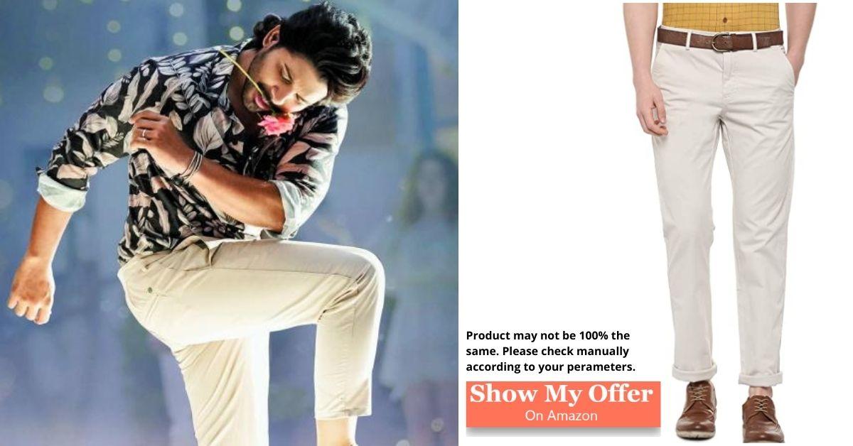 Allu Arjun in white trauser