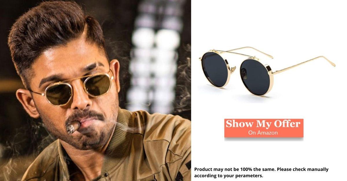 Allu Arjun in goggle