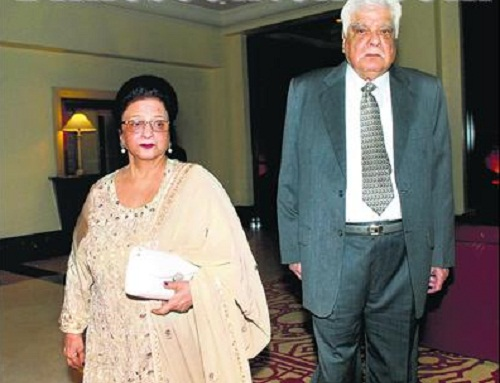 Anil Kapoor father and mother